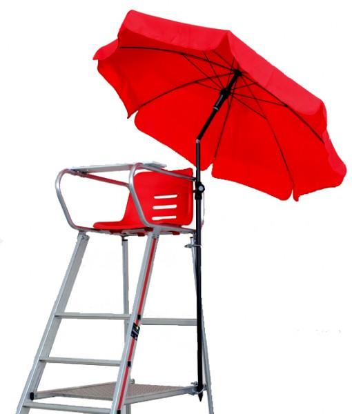 Sonnenschirm für den Schiedsrichterstuhl
